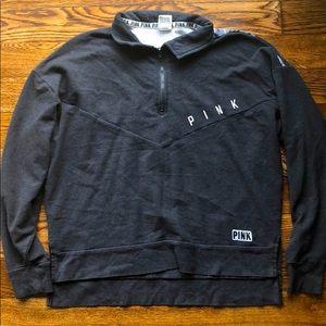 PINK quarter zip jacket.